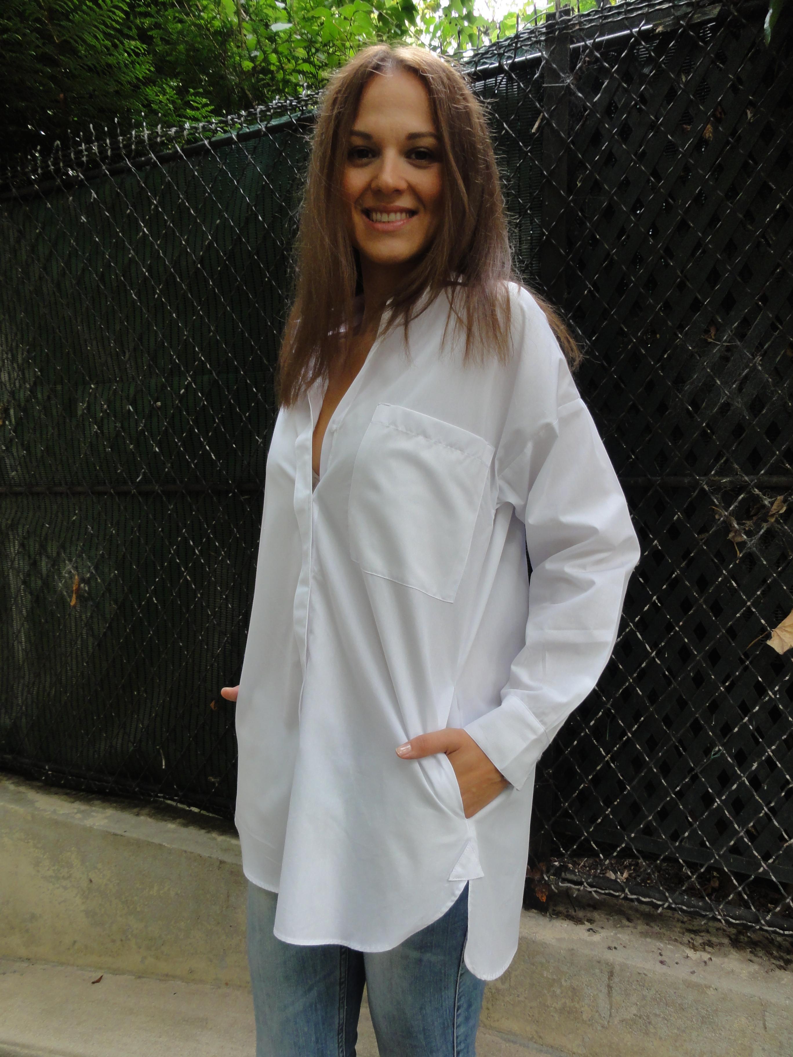 oversized shirt | THE FASHION MARIONNETTE